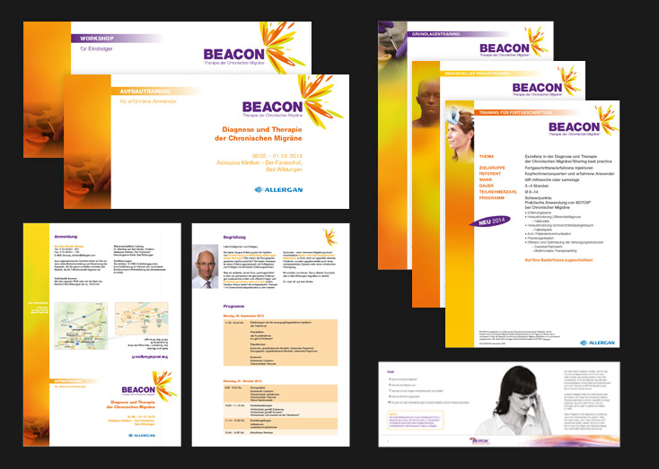 Allergan Broschüre, Flyer, etc. 2