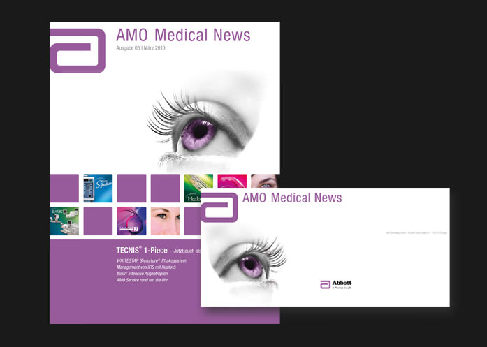 3We Portfolio Print: AMO Medical Newsletter